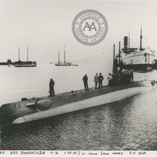 USS Barracuda (F-1 SS-21) Submarine