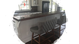 Liberty Ship Hatch Cover Kitchen Bar