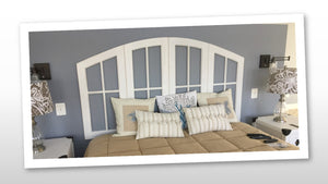 Bed Headboard, Custom