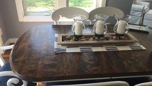 Domino Sugar Factory Wood Custom Dining Table