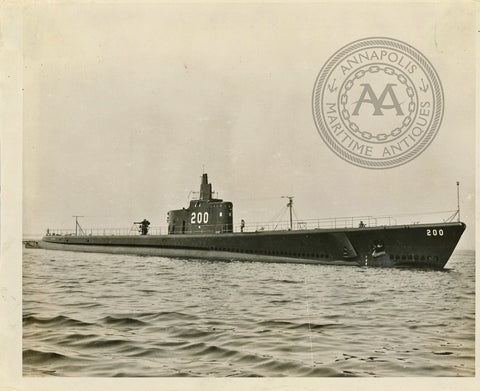 USS Thresher (SS-200) Submarine