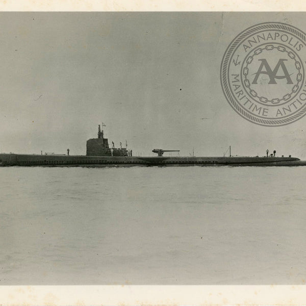 USS Trout (SS-202) Submarine