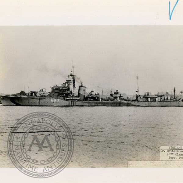 "British and Canadian ""V"" Class Destroyers"
