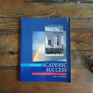 "Book ""United States Naval Academy - Strategies for Academic Success"""