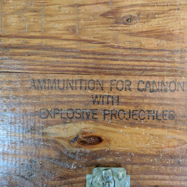 Mortar Ammunition Box, Vietnam Era - Annapolis Maritime Antiques
