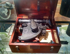 Sextant, WWII Ball Recording 1944 - Annapolis Maritime Antiques