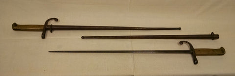 Bayonets Model 1900 Mauser Pre WWI (Pair) - Annapolis Maritime Antiques