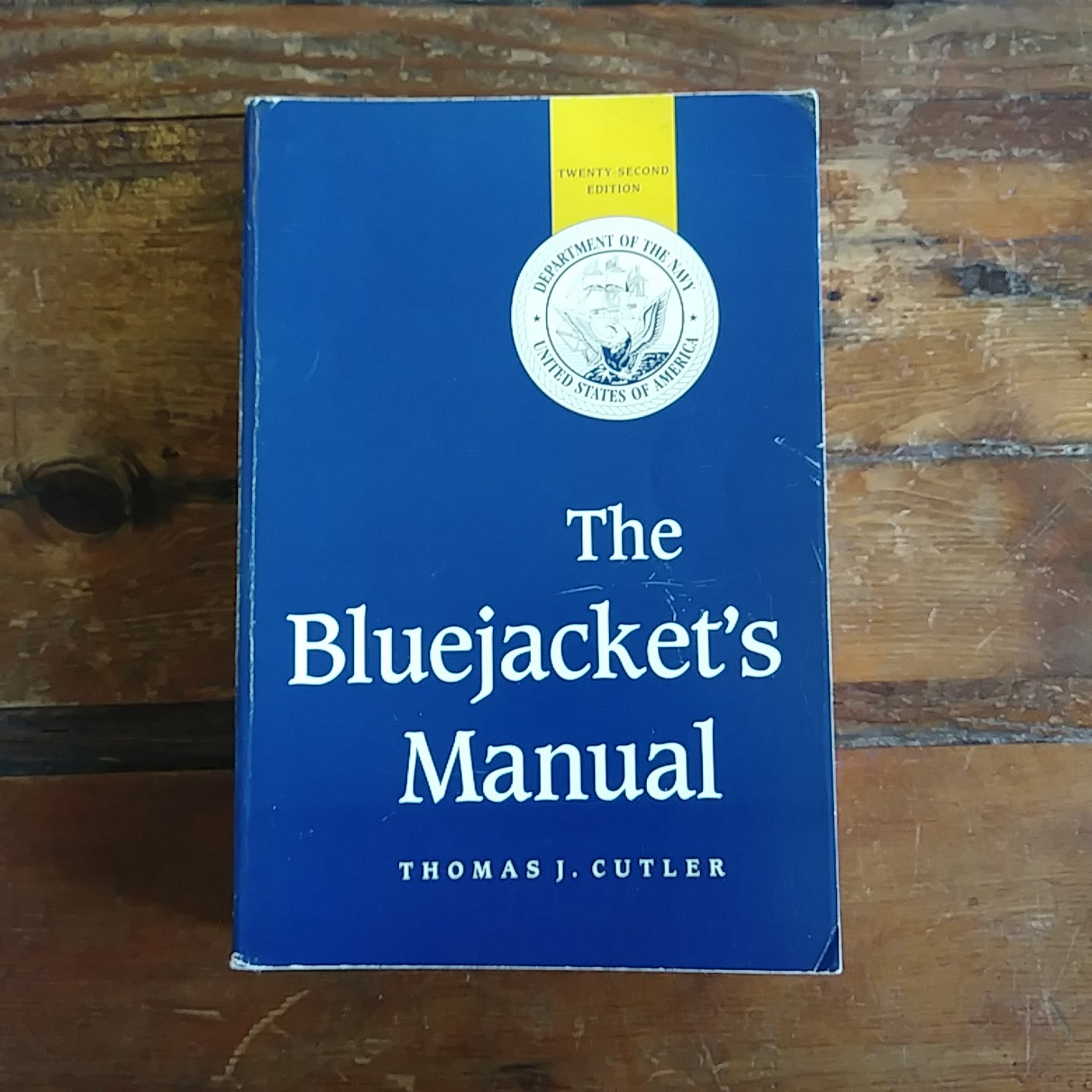 "Book ""The Bluejacket's Manual"" (Department of the Navy, United States of America)"