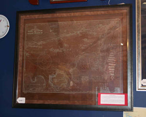Chart, Etching, Copper, US Navy Hydrographic Service - Annapolis Maritime Antiques
