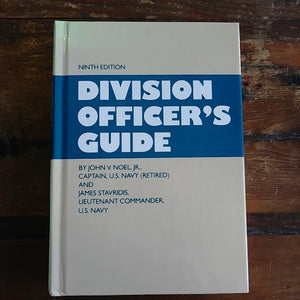 "Book ""Division Officer's Guide (Naval Institute Press)"