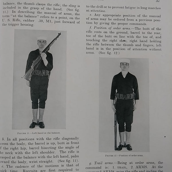 "Book ""Landing Party Manual - United States Navy 1950 - Chapter 2 Drill"