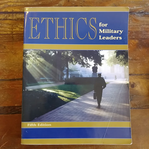 "Book ""Ethics for Miliatry Leaders"""