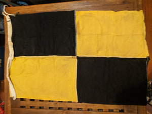 Vintage Cotton Signal Flags