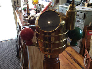 Binnacle, Aft Steering Heath & Co - Annapolis Maritime Antiques