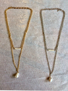 Necklace, W/ Pearl - Annapolis Maritime Antiques