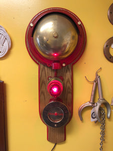 Alarm Bell with Red Light, Queen Mary, circa 1930