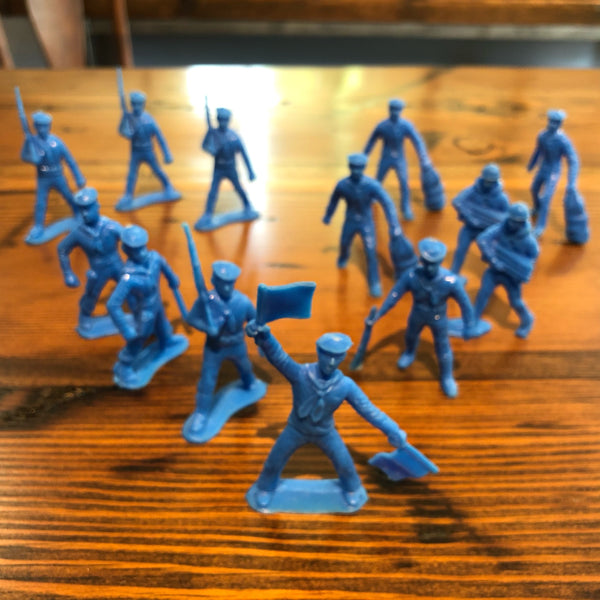 Vintage Toy Navy Sailor Set (Blue) - Annapolis Maritime Antiques