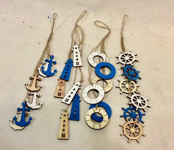 Ornaments, Nautical Hanging Items