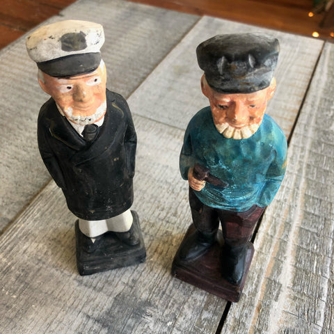 Ceramic Sailor Figure - Annapolis Maritime Antiques