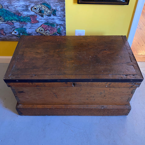 Shipwrights tool box, circa early 1800's, original condition