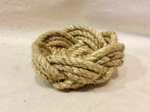 Rope Bowl, hand woven, small