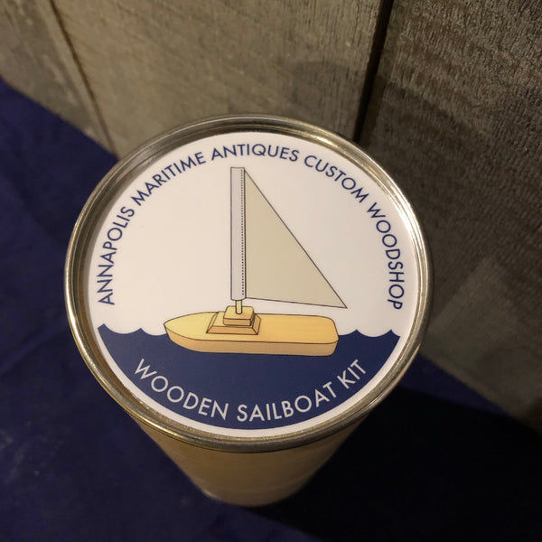 Wooden Sailboat Kit - Annapolis Maritime Antiques