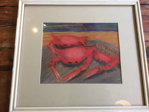 "Art, ""Crab"" by Francesca Needham - Annapolis Maritime Antiques"
