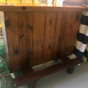 Bar, Liberty Ship Hatch Cover Top - Annapolis Maritime Antiques