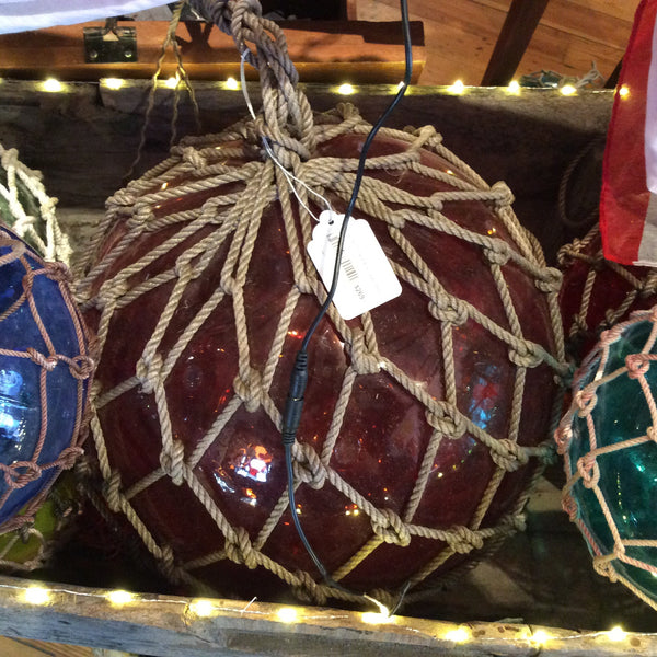 Float, Fishing Net, Extra Large, Assorted Colors - Annapolis Maritime Antiques