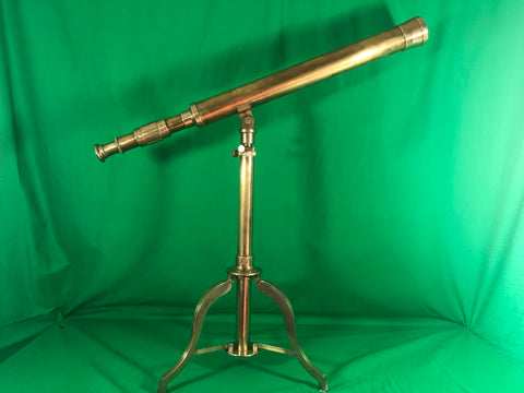 Table Telescope, Solid Brass