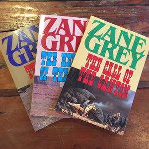 Book, Zane Grey Phoenix River editions - Annapolis Maritime Antiques