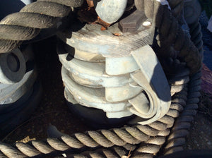 Block, Large, Liberty Ship - Annapolis Maritime Antiques
