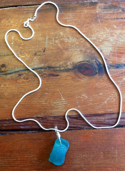 Necklace, Sea Glass, Assorted Colors - Annapolis Maritime Antiques