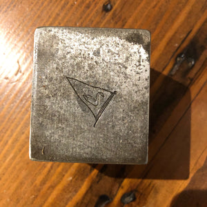 Steel Stamping Die, Potomac River Sailing Association Burgee - Annapolis Maritime Antiques