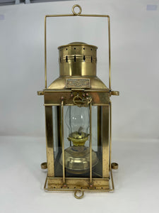 Cargo Light, Brass, with oil Pot, 1939