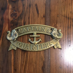 Captains Quarter Plate