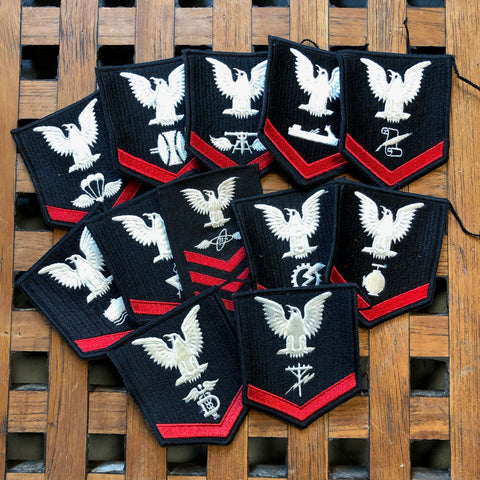 Navy Rating Patches