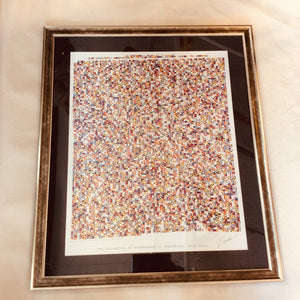 Declaration of Independence in Signal Flags, Framed, 31 X 42 - Annapolis Maritime Antiques
