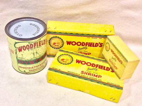 Woodfield's, Set Of 3 Items - Annapolis Maritime Antiques