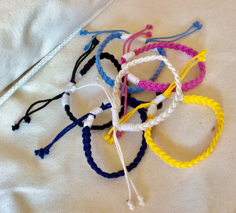 Adjustable woven anklet - Annapolis Maritime Antiques