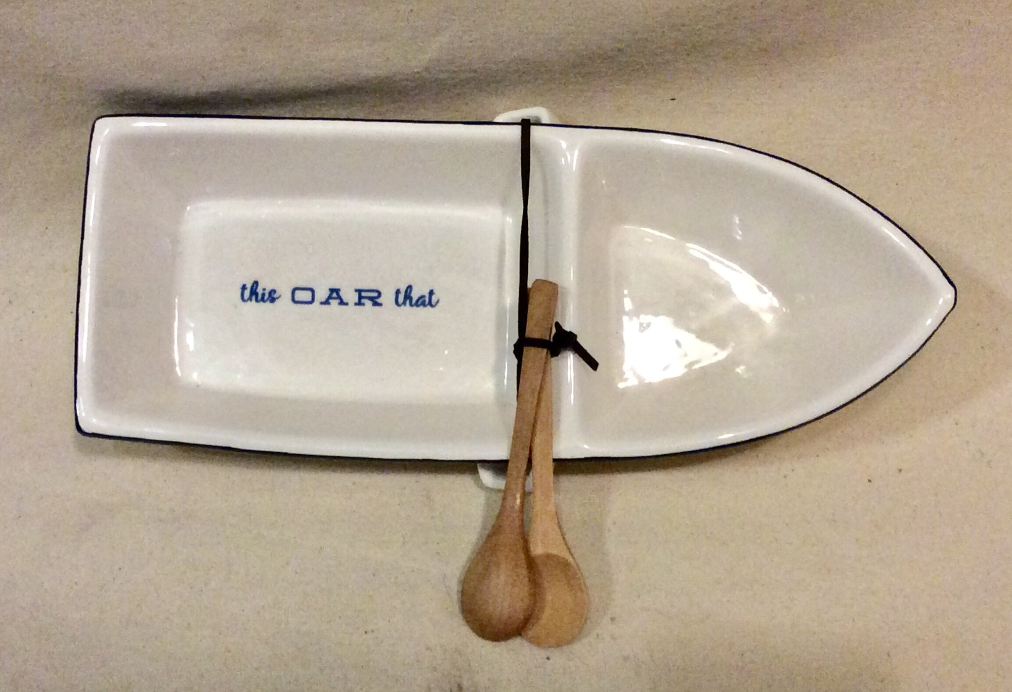 Bowl, Boat w/Spreaders - Annapolis Maritime Antiques