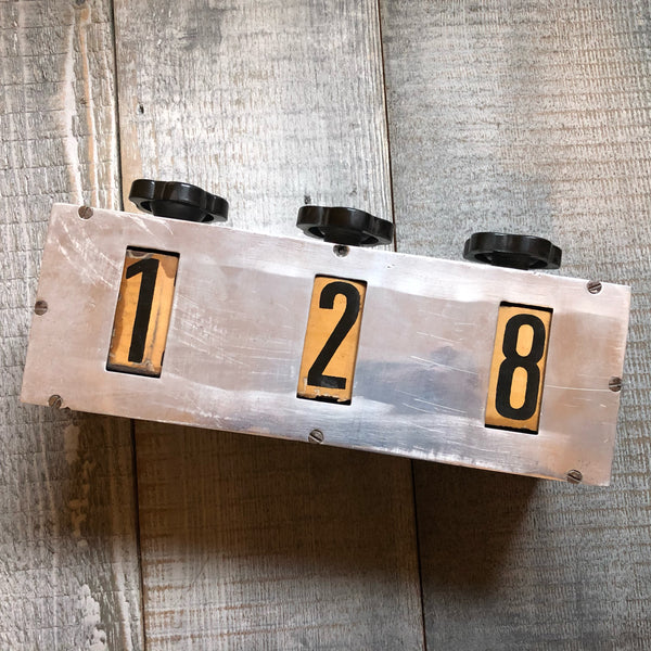 Salvaged Heading Indicator - Annapolis Maritime Antiques