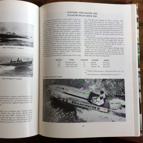 "Book: ""The Real Runabouts, Volume II"" Signed copy - Annapolis Maritime Antiques"