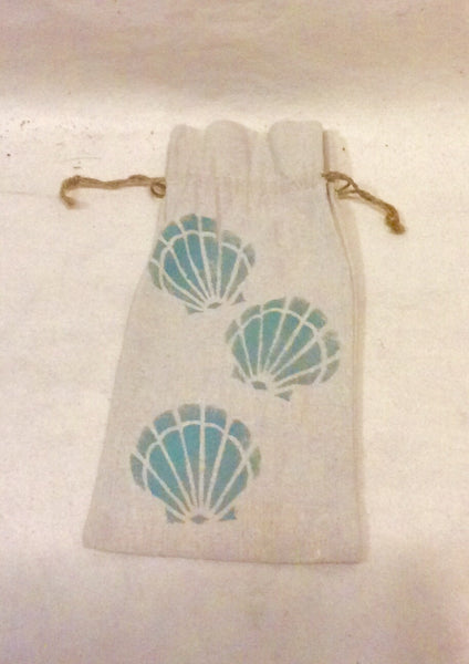 Nautical Wine Bags