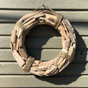 Driftwood Wreath - Annapolis Maritime Antiques