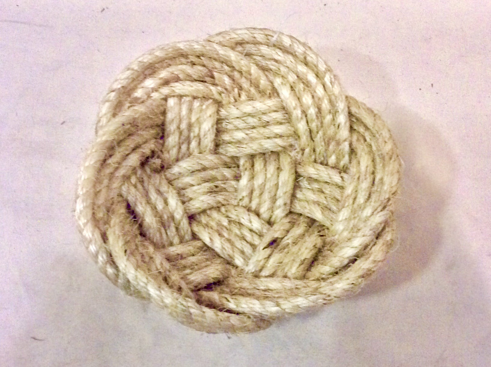 Rope Bowl, hand woven, large