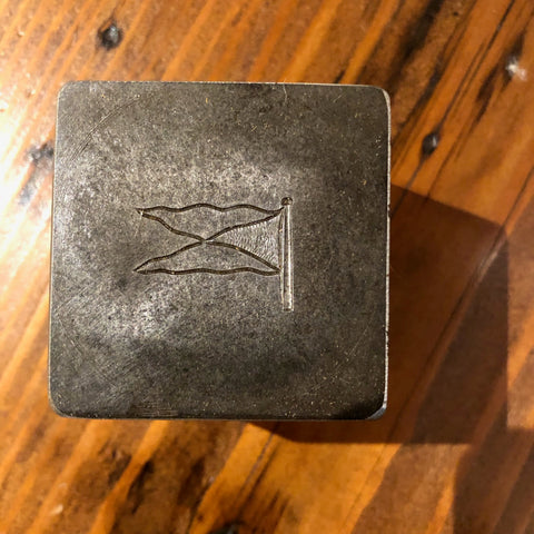 Steel Stamping Die, Indian Landing Boat Club Burgee