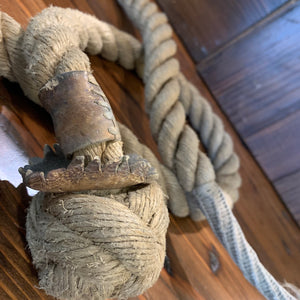 Nautical Art, Monkey Fist Rope