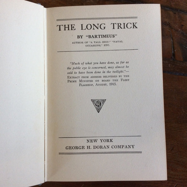 "Book: ""The Long Trick"" - Annapolis Maritime Antiques"