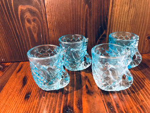 Mermaid Shot Glasses - Annapolis Maritime Antiques